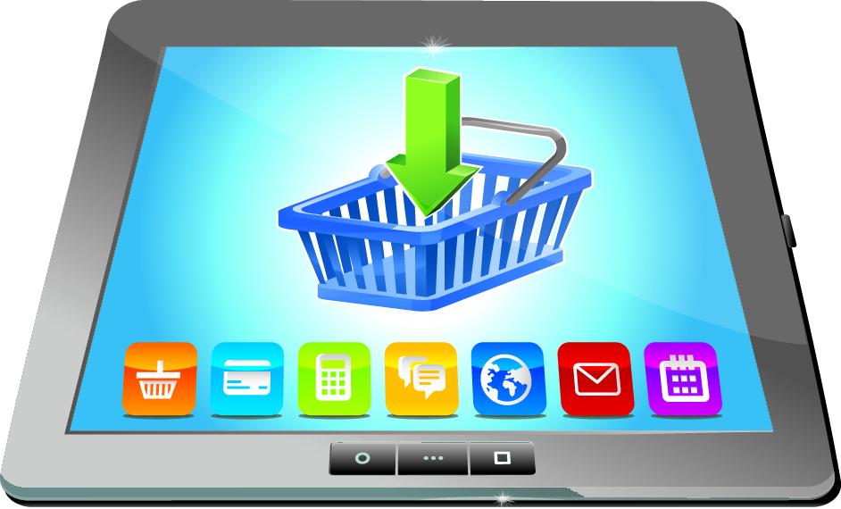 ecommerce tablet
